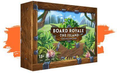 Kickstarter abril primera quincena - board royale