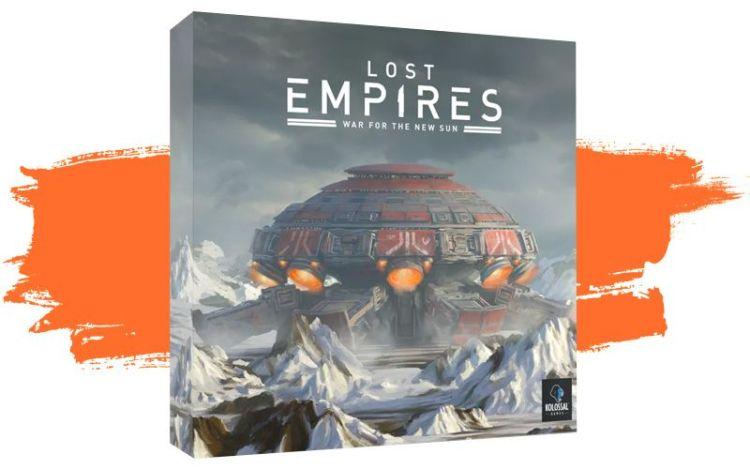 Lost Empires - Kickstarter abril segunda quincena 2021