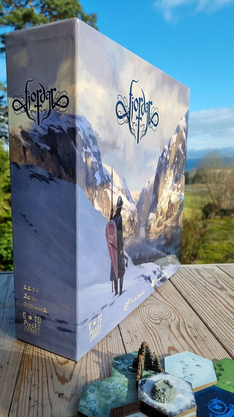 Fjordar - Primeras Impresiones - Caja