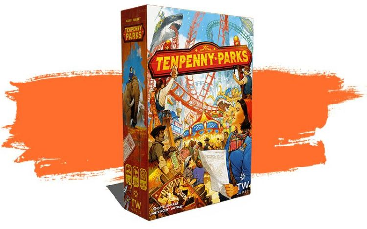 Caja de Tenpenny Parks - Gestiona tu parque temático