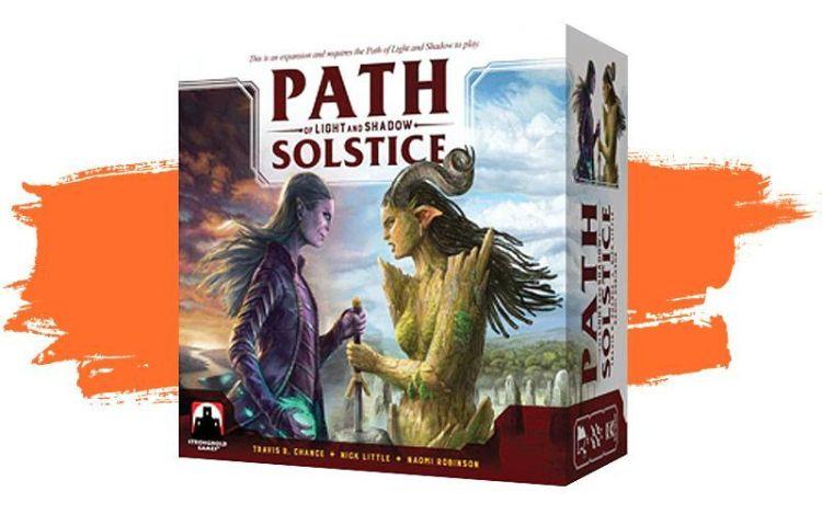 Path of Light and Shadow: Solstice - caja de juego