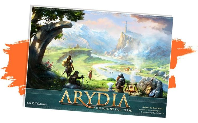 Arydia, portada - Kickstarter primera quincena Agosto 2021