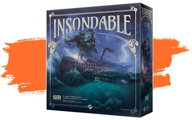Insondable  Arkham - caja del juego