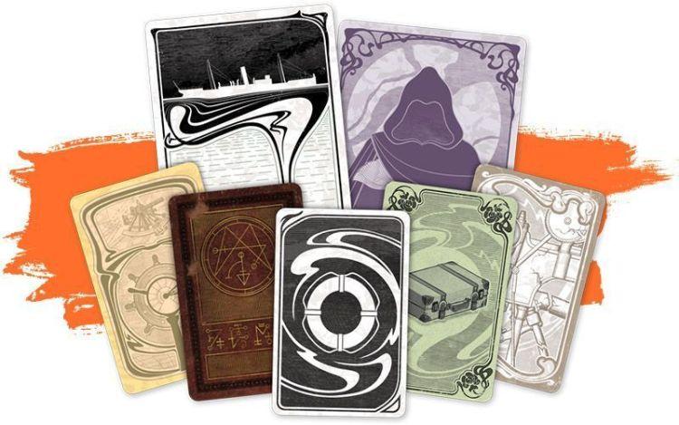 Insondable  Arkham - dorsos de cartas
