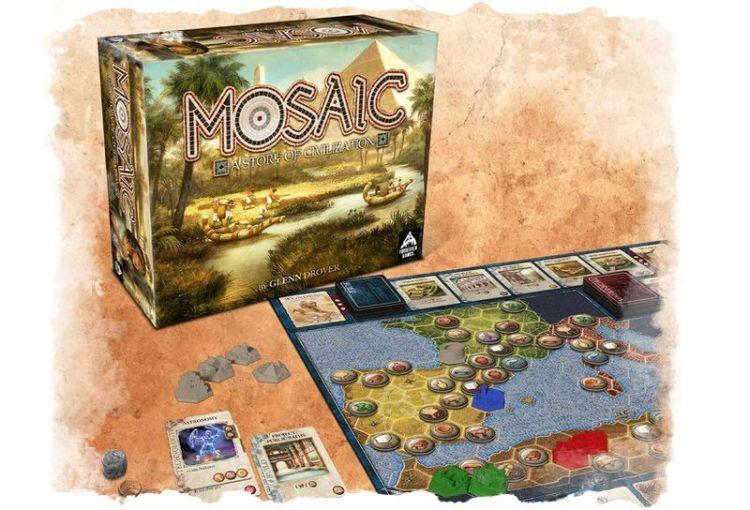 Mosaic Primeras impresiones . tablero y caja