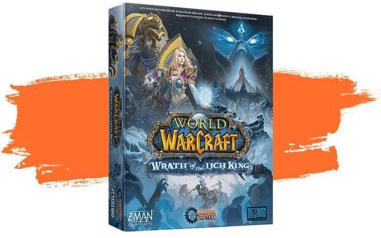 World of Warcraft: Wrath of the Lich King juego de mesa - portada