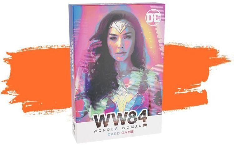 WW84: Wonder Woman Card Game - tanda de juegos de Maldito Games