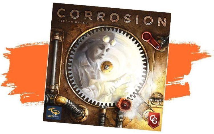 Corrosion juego de mesa en español