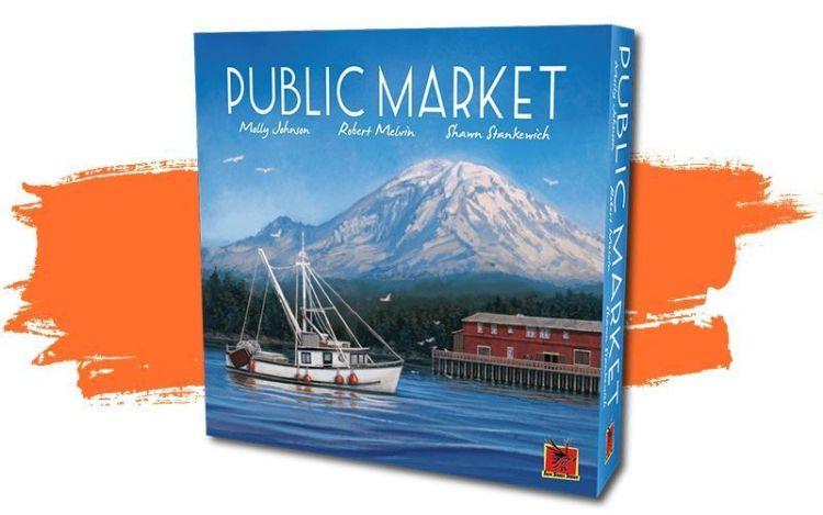 Public Market juego de mesa.