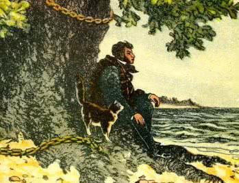 У Лукоморья дуб зелёный - Пушкин. Слушать онлайн.