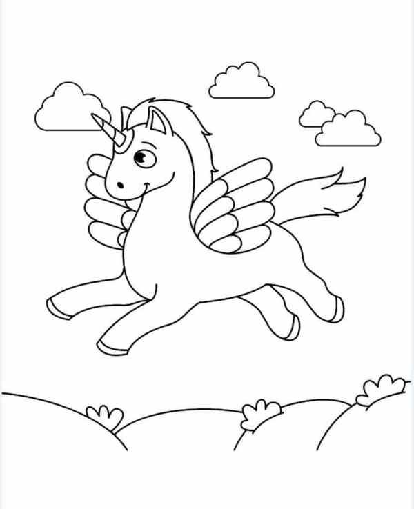 Раскраски Единороги Раскраски для девочек 510 лет