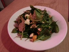 Butternut, sweet potato and feta salad