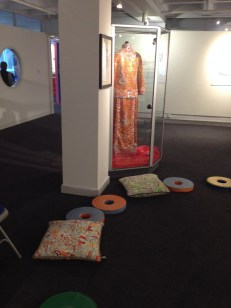 Chinese outfit on display