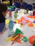 Fun crafty play with Olivia