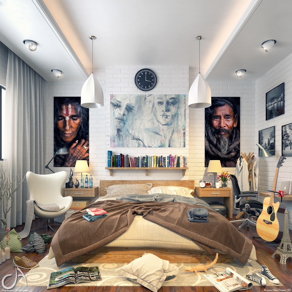 Creative people have messy homes | Mishon Welton Estate Agents on Room Decor Indie id=35696
