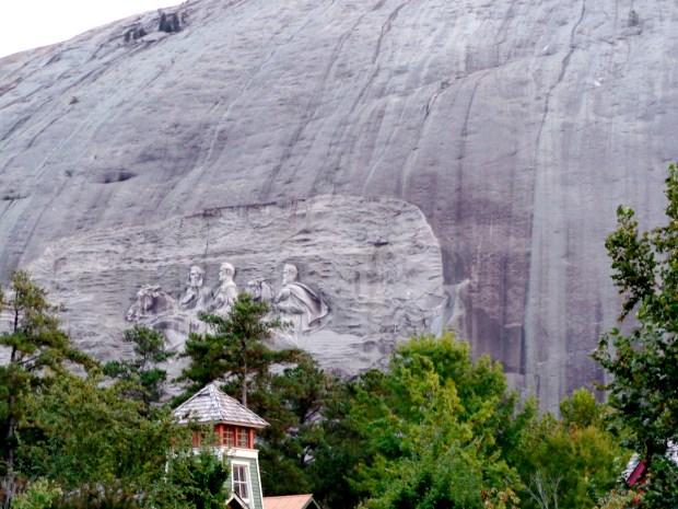 Stone Mountain bas-relief