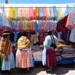 Feria Saturday market in Puno, Peru