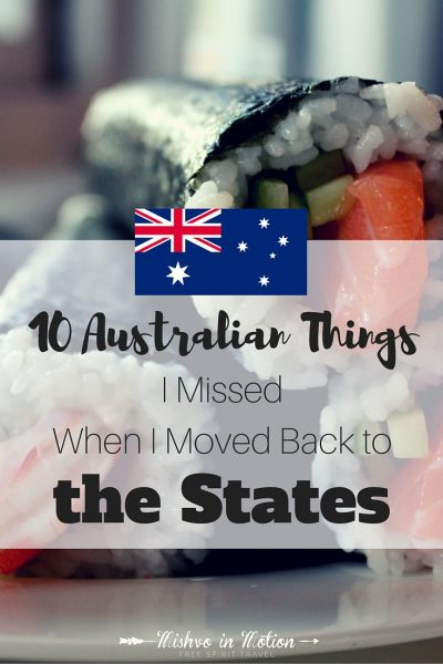 10 Australian things I missed when I moved back to the States