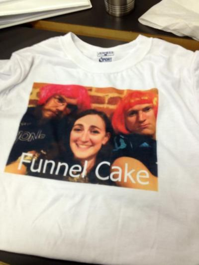 Our Funnel Cake crew Tshirt