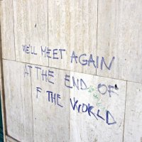 End of the world graffiti