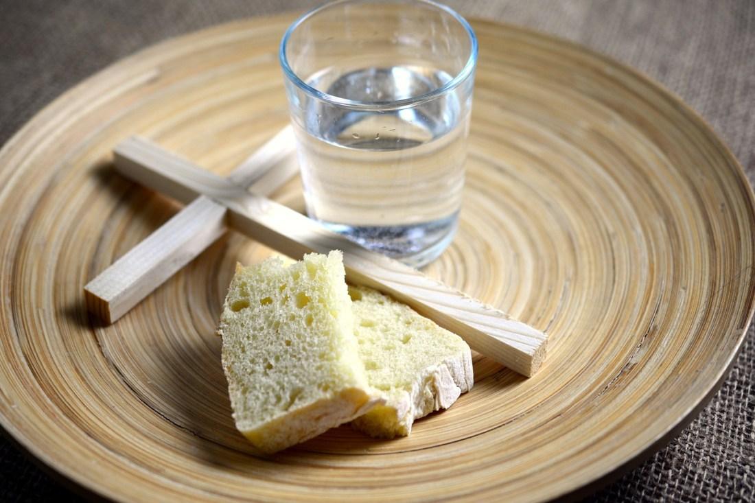 ayuno a pan y agua