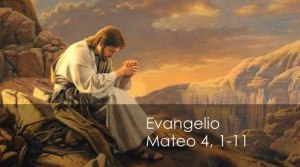 Mateo 4, 1-11