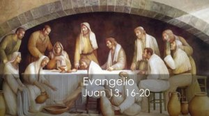 Juan 13, 16-20