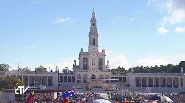 Santuario de Fátima, Misa Canonización Francisco y Jacinta Marto