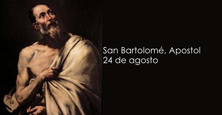 Celebramos la Fiesta de san Bartolomé: Patrono de los fabricantes ...