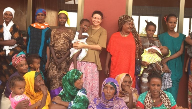 Belén Manrique, misionera laica en Etiopía