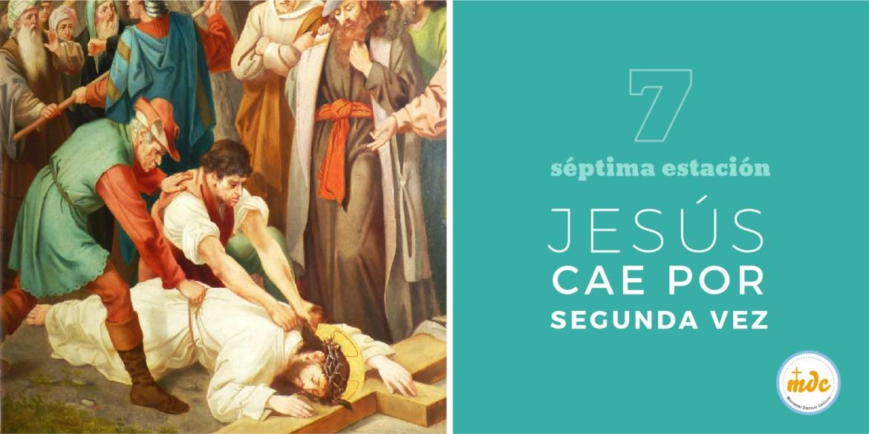 Matrimonio Catolico Por Segunda Vez : Vía crucis séptima estación jesús cae por segunda vez