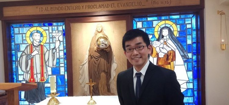 Masahiro Yuki Seminarista Catolico