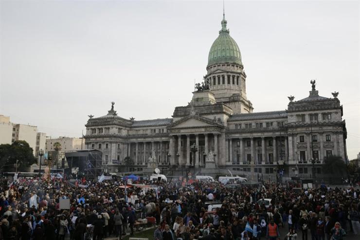 Marcha por la vida - Congreso de Argentina