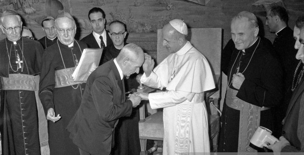 Franciszek Gajowniczek, el hombre al que San Maximiliano Kolbe ...