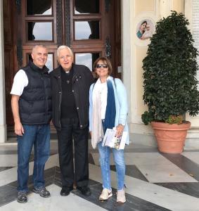 Horacio, El Padre Marco y Andrea