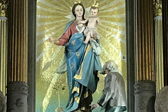 Nra.Senora de la Guarida : Altar de la Basilica