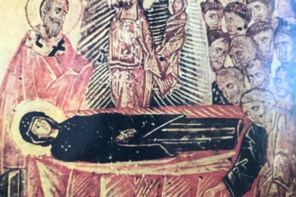 Tablita de la Virgen de Montallegro