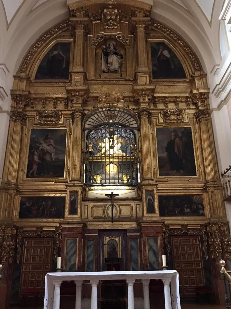 Altar de la Ilgesia de Santa Teresa de Jesus