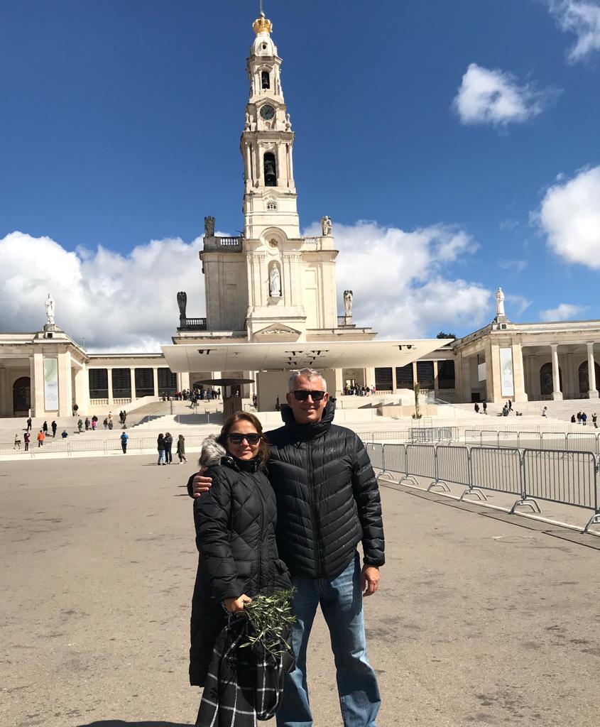 Nuestra última foto en el Santuario