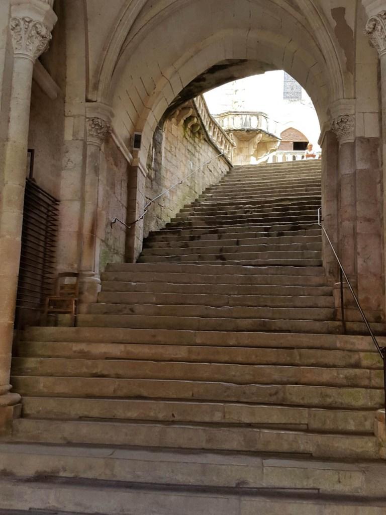 Escalera de los peregrinos