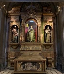 Altar de la Basílica dedicado a Santo Domingo