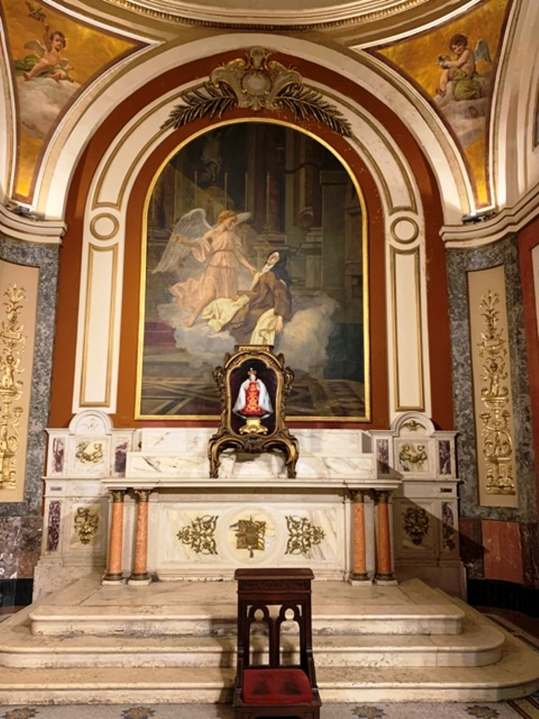 Capilla de Santa Teresa de Ávila. Niño Jesús de Praga