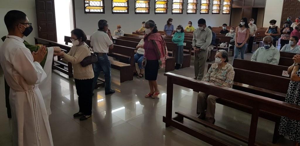 Misa en Bolivia