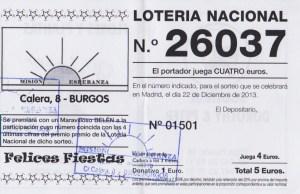 Loteria 2013 - MEB