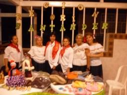 Noche de talentos - hermanas de Santander