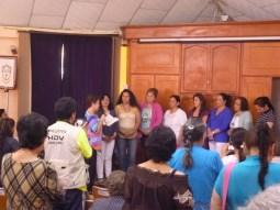 Intalacion del nuevo comité directivo del ministerio de mujeres luteranas de Colombia 2013- 2015