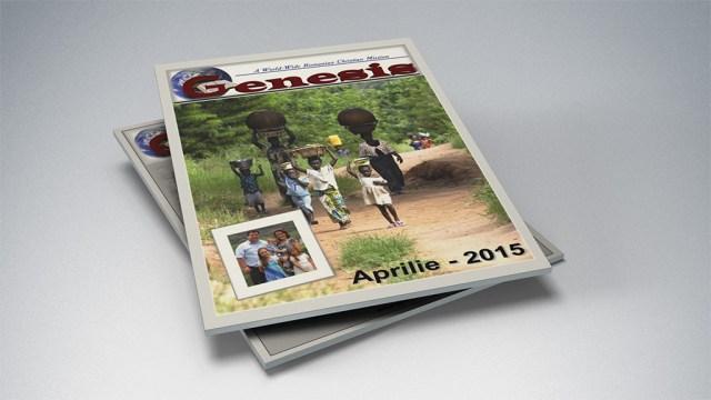 Genesis Magazine Aprilie 2015