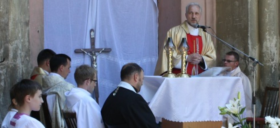 O. Stanisław Smolczewski SJ, misjonarz na Ukrainie