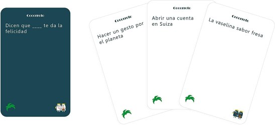 cartas juego cocorroto fiesta