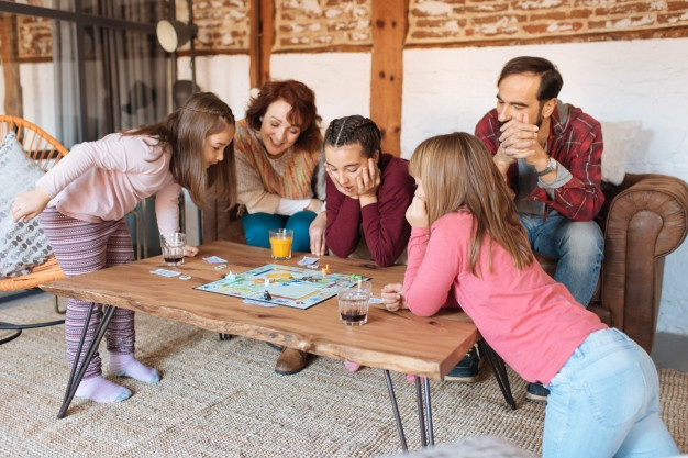 Juego de mesa familiar